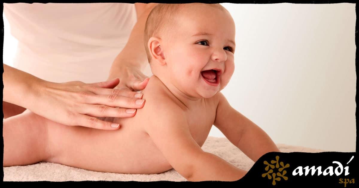 Você e seu bebê conhecem a massagem shantala? - Amadí Spa - Moema