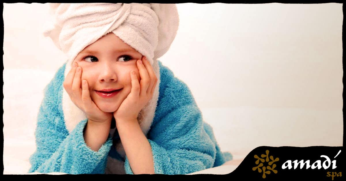 Crianca tambem precisa de spa - Amadi Spa - Moema