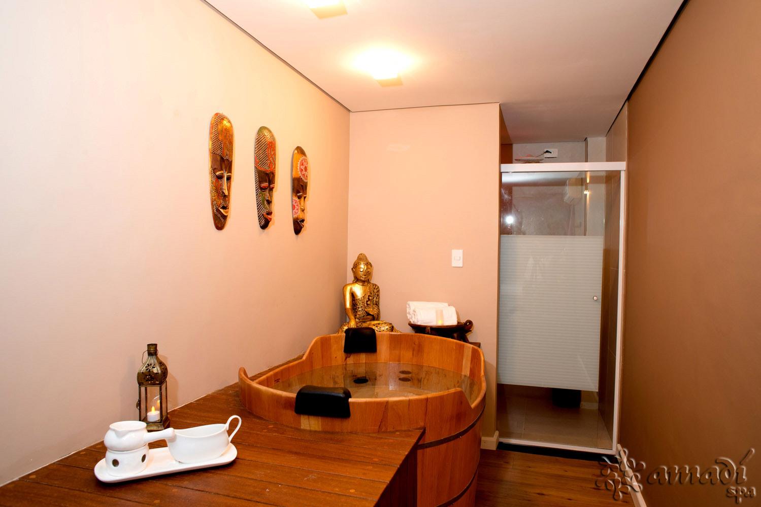 Sala para Casal com Ofurô - Amadí Spa - Moema